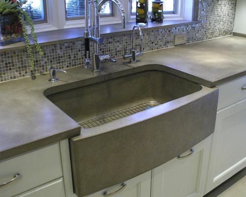 concrete kitchen sink 60 island options vindak big
