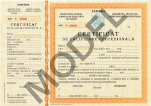 certificat competena profesionala tehnician nutritionist