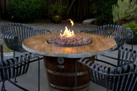 .:Wine Barrel Fire Pits- Sonoma County Fire Pits:. - SHOP