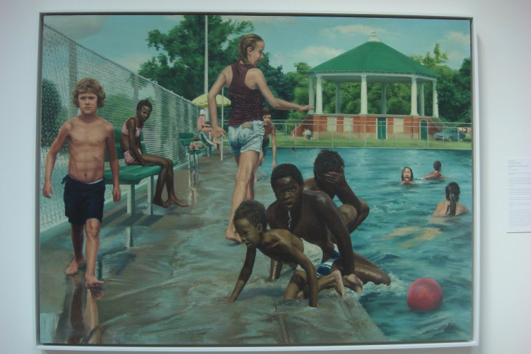 The Swimming Pool at Hunting Park, Edith Neff, 1977-1