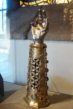 Arm Reliquary of St. Babylas, 1467, Germany. Philadelphia Musuem of Art-2