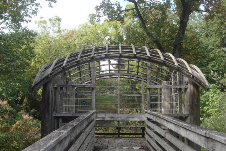 Martin Puryear Pavillion in Fairmount Park October 9, 2015-07