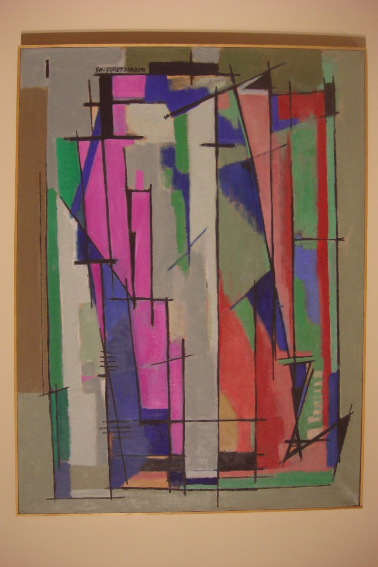 Norman Lewis abstract paintings-02