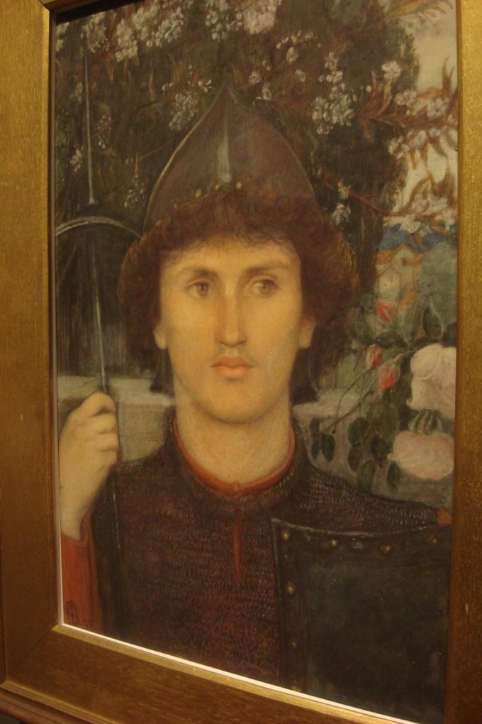 St. George, 1892, Marie Spartali Stillman, DAM-2