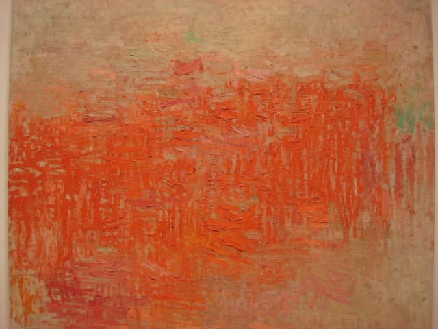 Philip Guston Painting 1954 MOMA