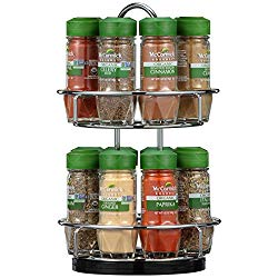 Organic Spices and Spice Rack