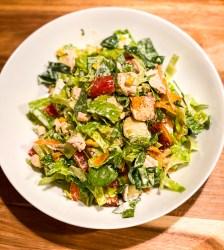 Roasted Potato and Rotisserie Chicken Salad