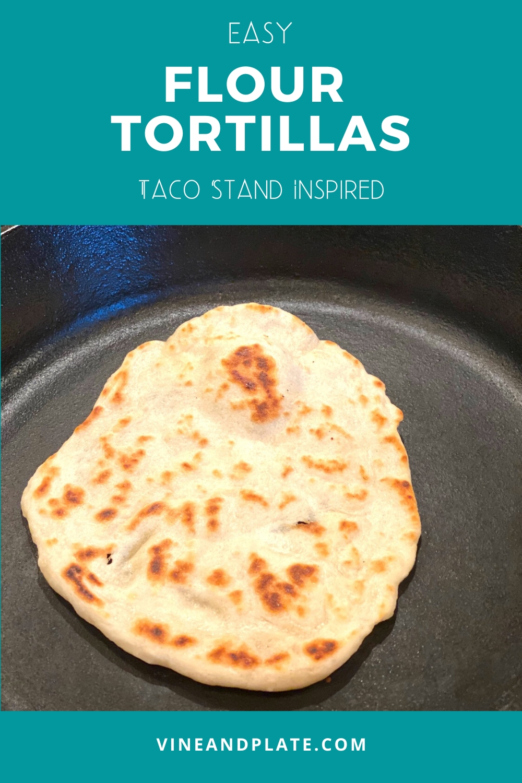 tortillas in a pan