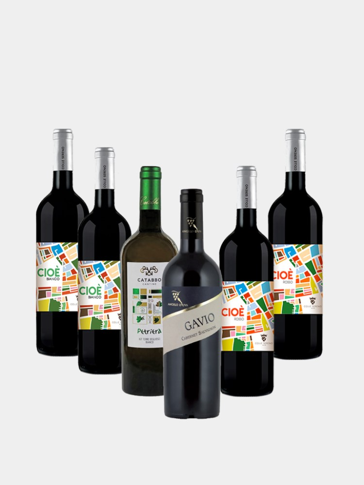 Molise Introduction Case from Vine and Soul 6 Bottles