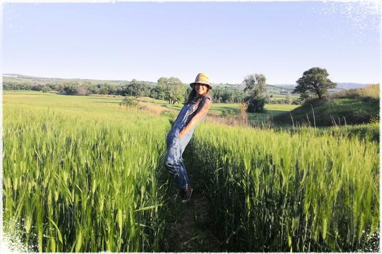 Ewa In Field Hat