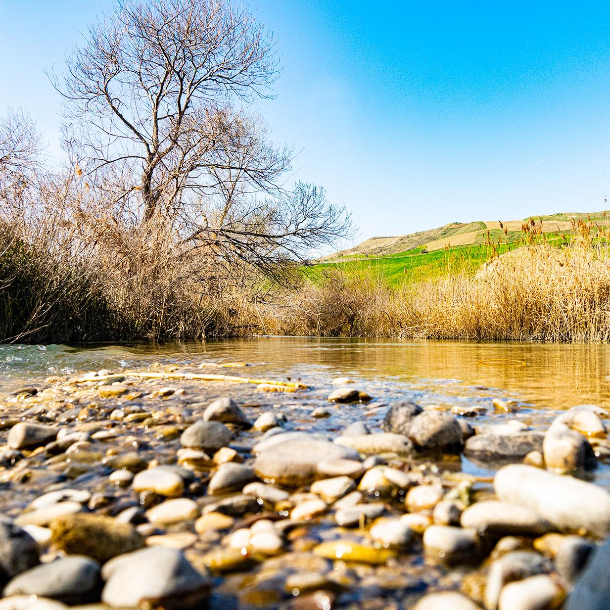 Biferno River Molise