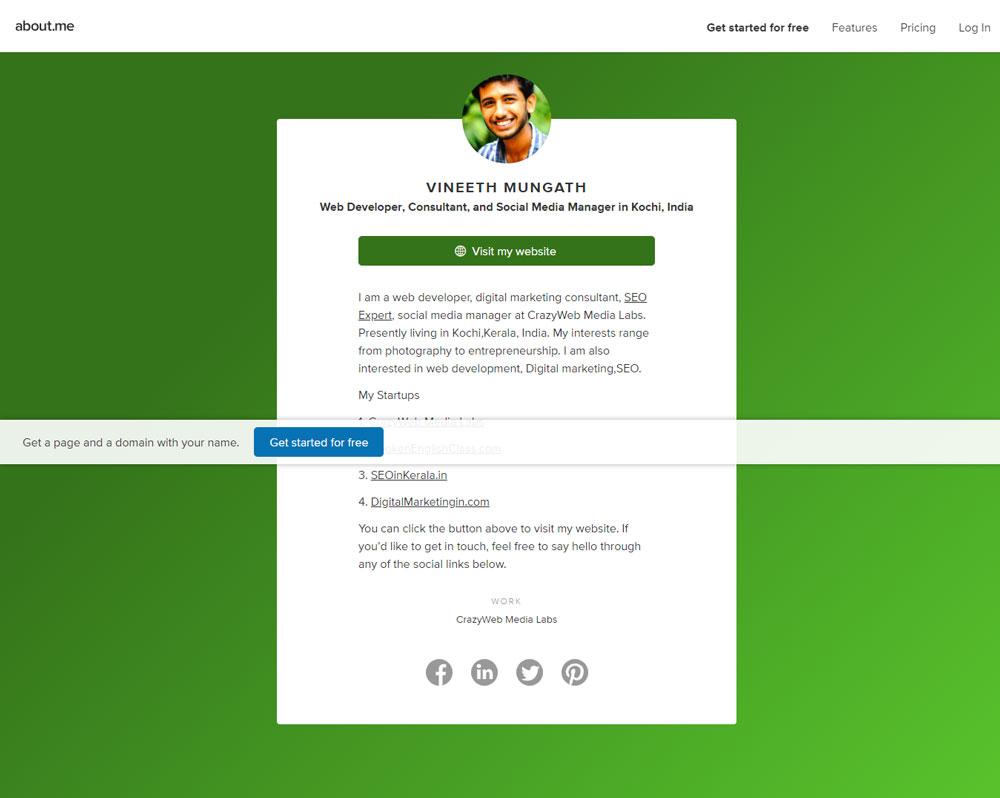 Vineeth-Mungath---Kochi,-India,-CrazyWeb-Media-Labs---about