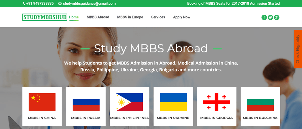 mbbs abroad seo services