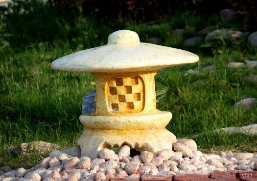 Japanese Stone Lantern (dai-doro) - Japanese Garden Chandigarh