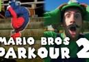 Видео: Крутой паркур от Супер Братьев Марио.