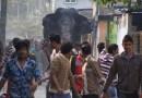 В Индии взбесился слон.