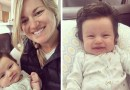 Фотография 2,5 месячной малышки с «огромной» шевелюрой взорвала Интернет.