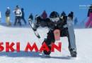 Видео: Фантастический спуск с горы Человека-Лыжи.