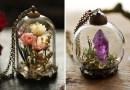 Волшебные ювелирные изделия с натуральными элементами внутри от Кей Беллс.