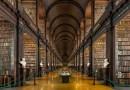 300-летняя дублинская библиотека, в которой хранится более 200 000 книг.