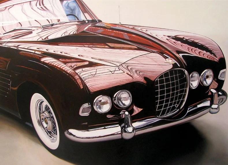 Cheryl Kelley_realistichnie_kartini_avtomobiley_vinegret (9)
