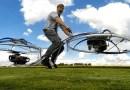Видео: Изобретатель Колин Ферз построил ховербайк.