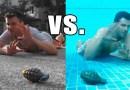 Видео: Где лучше спасаться от ручной осколочной гранаты — на суше или под водой?
