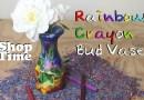 Видео: Создаем вазу из цветных карандашей.
