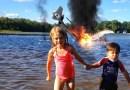 Американец превращает своего 4-летнего сына в героя коротких роликов, которые наполнены фантастическими спецэффектами.