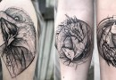 Настоящие татуировки, которые выглядят как эскизы, от бразильского мастера Фрэнк Карильо.