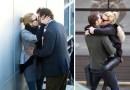 Подловили: Поцелуи знаменитостей у всех на виду.