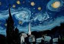 Видео: Художник воссоздал картину Ван Гога рисуя красками на воде.