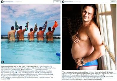 Парни воссоздали популярные образы, которые выкладывают девушки в Instagram.