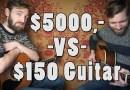 Видео: Насколько отличается звучание гитары за $5000 от инструмента купленного за $150.