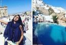 Эта девушка провела медовый месяц без мужа, после того как ему отказали в визе.