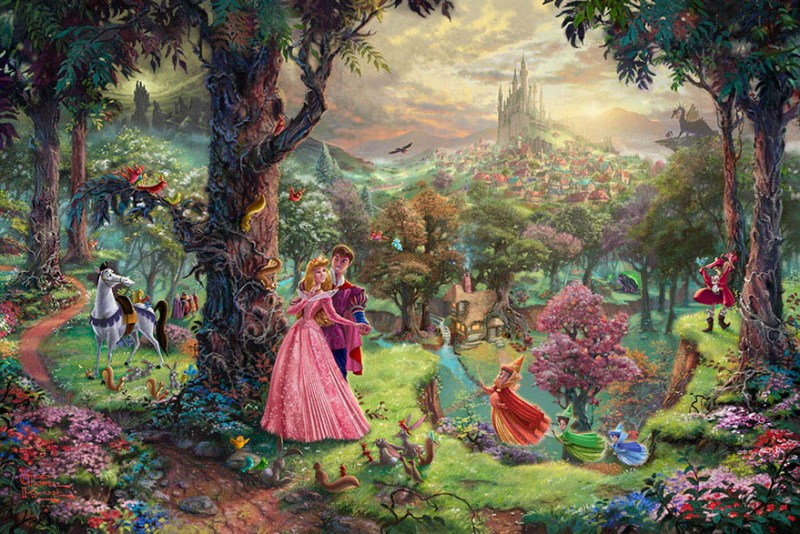 disney-paintings-thomas-kinkade-vinegret (9)