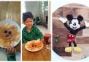 Для того чтобы привить сыну любовь к здоровой пище, мать создает блюда в виде героев из мультфильмов.