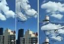 Художник создает милые иллюстрации, обводя облака, для того, чтобы развивать свое воображение и придумывать новых персонажей.