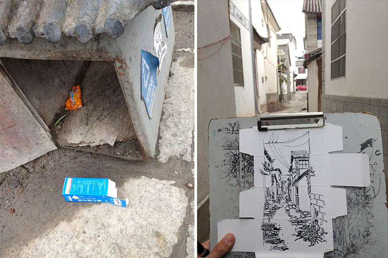 drawing-with-waste-paper-vinegret (11)