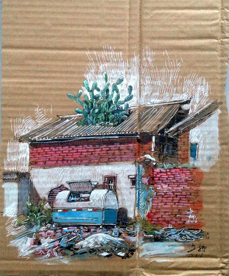 drawing-with-waste-paper-vinegret (15)