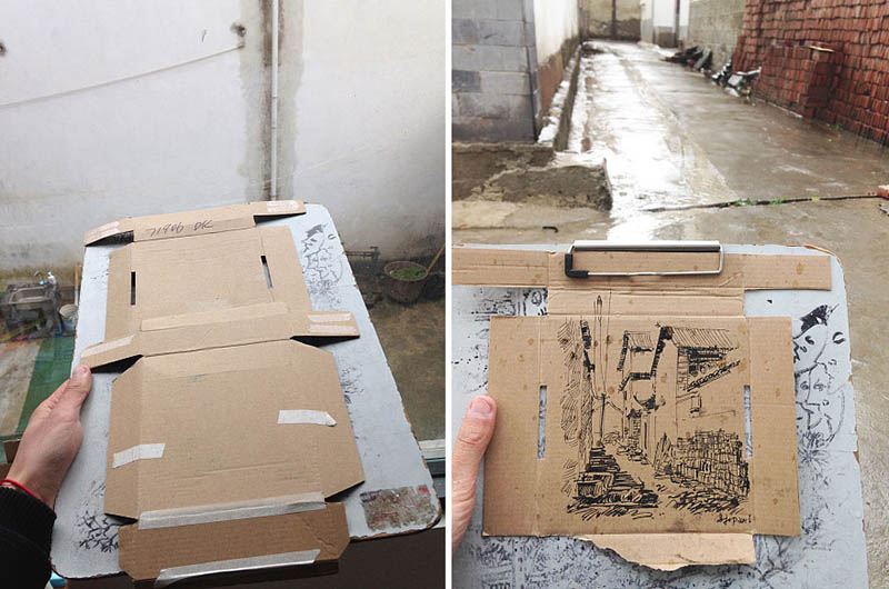drawing-with-waste-paper-vinegret (6)