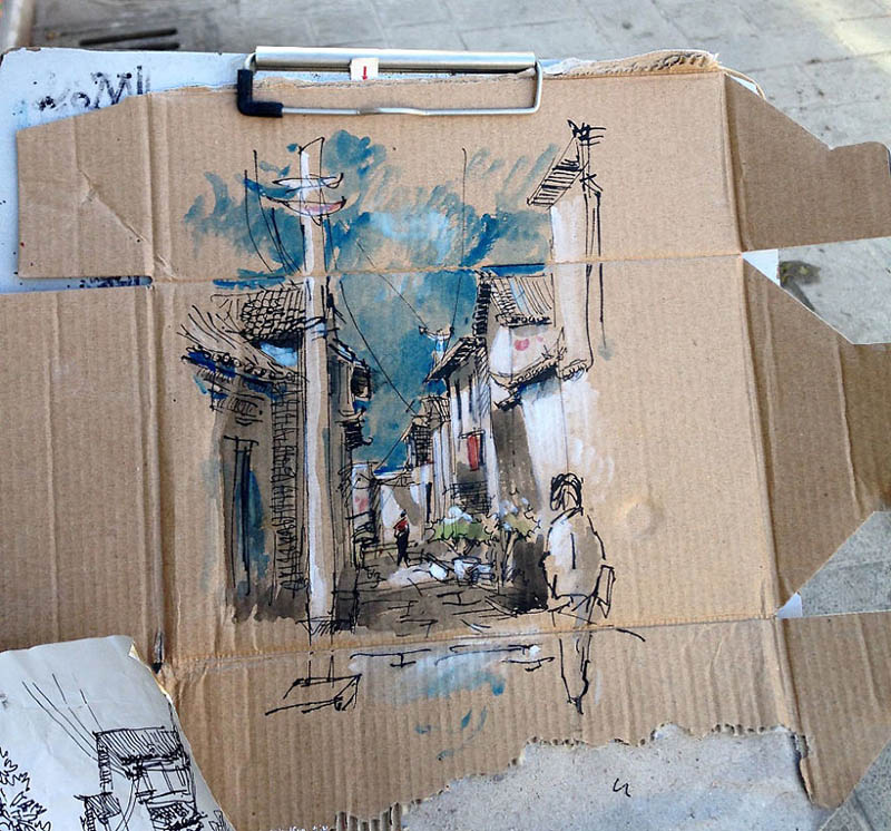 drawing-with-waste-paper-vinegret (8)