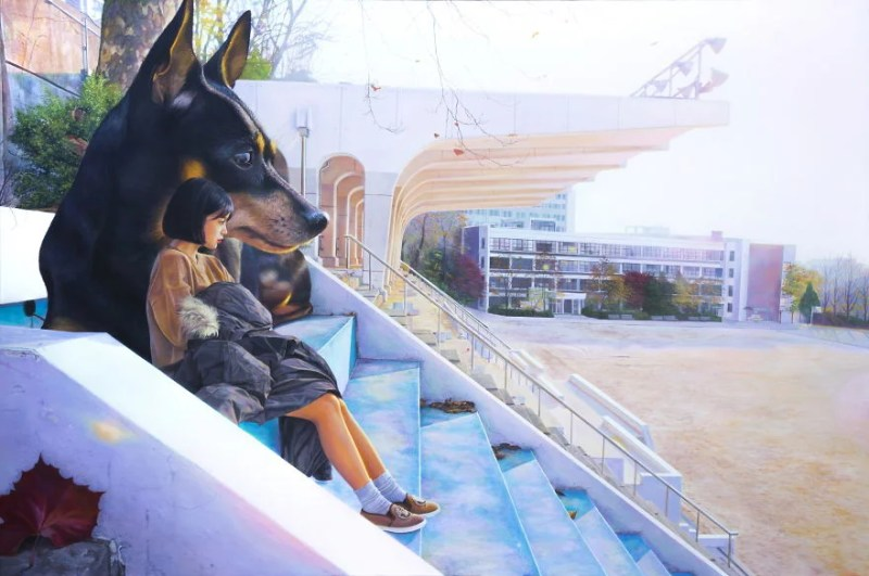 giant-dog-oil-paintings-woo-jae-jeong-vinegret (6)