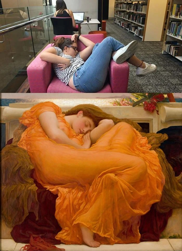 girl-falls-asleep-chair-university-library-photoshop-battle-vinegret (4)