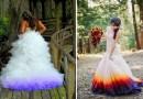 В мире набирает обороты тенденция окунать свадебные платья в краситель, чтобы сделать свой «Большой день» еще более красочным.