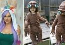 Эта мама связала крестиком для своего сына необычный костюм инопланетянина.