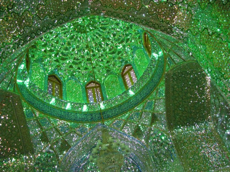 emerald-tomb-ceiling-shah-cheragh-shiraz-iran-vinegret-6