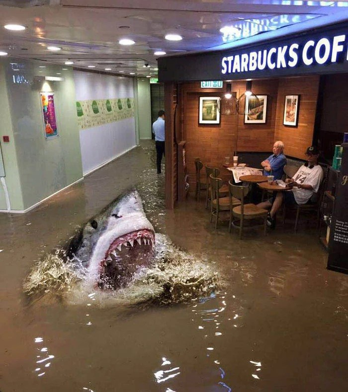 funny-starbucks-uncle-hong-kong-floods-photoshop-battle-vinegret-7