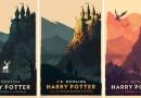 Винтажные обложки для книг о «Гарри Поттере» от художницы Олли Мосс.