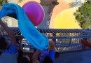 Видео: Наполненный водой шар сбросили с 45 метровой вышки.